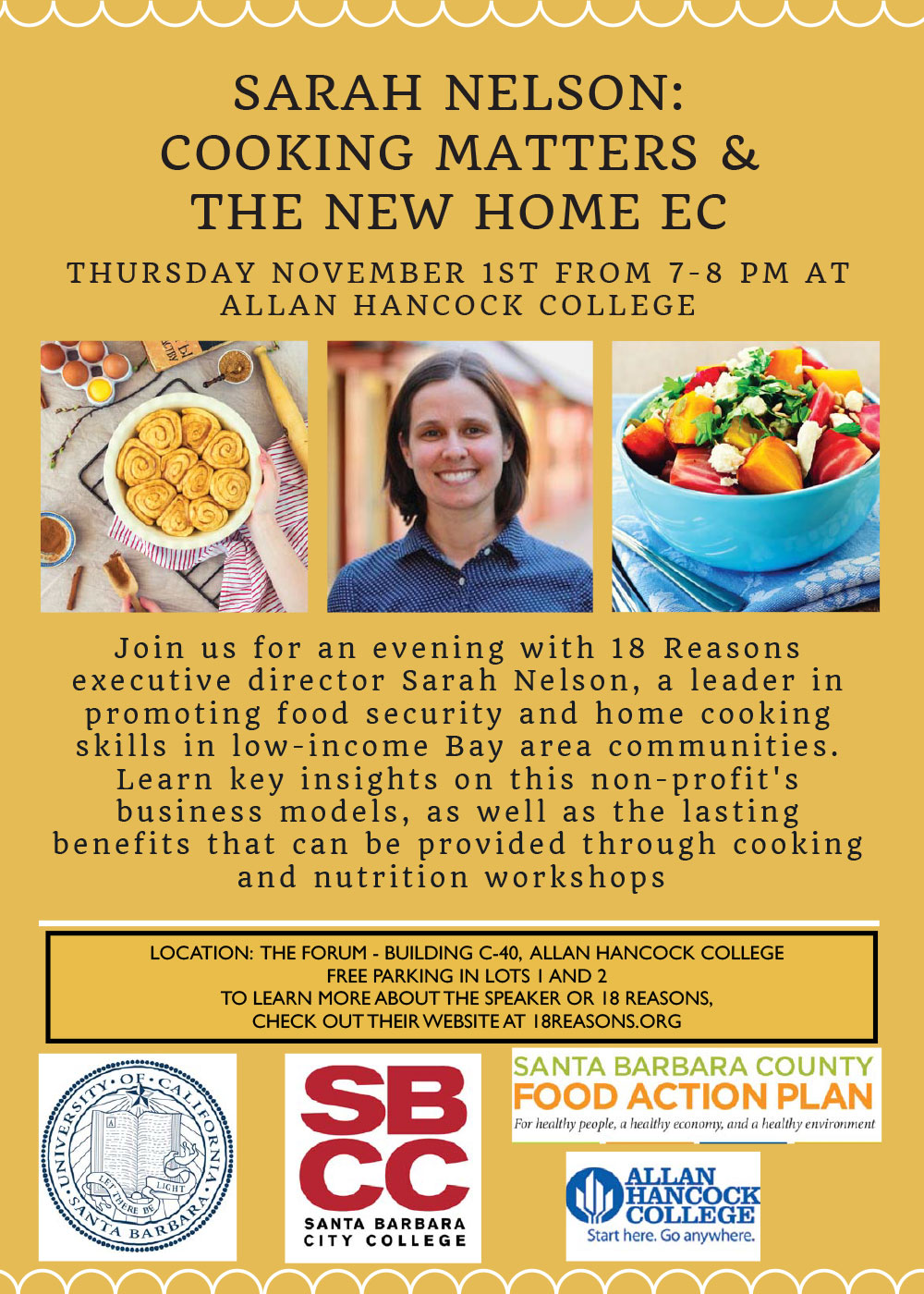 Sarah Nelson: Cooking Matters & The New Home Ec